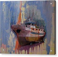 Trawler Acrylic Print