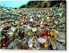 Treasure Beach Acrylic Print by Daniel Furon