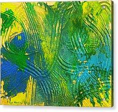 Treasure Hunting Tales Acrylic Print by Liza Wheeler