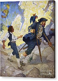 Treasure Island, 1911 Acrylic Print by Granger