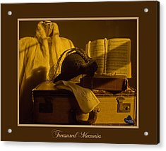 Treasured Memories Acrylic Print by Gina Munger