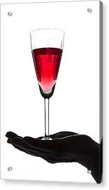 Treasured Wine Acrylic Print by Svetlana Sewell