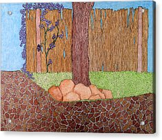 Tree Bottom 3 Of 3 Acrylic Print