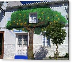 Tree House In Spain Acrylic Print