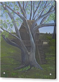 Tree House Acrylic Print