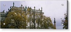 Tree In Front Of A Palace, Winter Acrylic Print