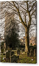 Acrylic Print featuring the photograph Tree In St Mary Magdalene's Church Yard by David Isaacson