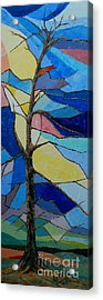 Tree Intensity - Sold Acrylic Print by Judith Espinoza