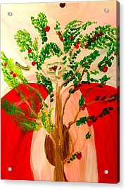 Tree Of Apples Acrylic Print by Pretchill Smith