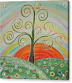 Tree Of Happiness Acrylic Print