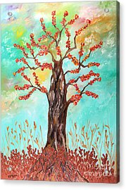 Tree Of Joy Acrylic Print