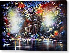 Acrylic Print featuring the painting Tree Of Life 2 by Patricia Lintner