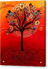 Tree Of Life Acrylic Print by Catherine Barry