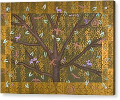 Tree Of Life Acrylic Print by Diana Perfect