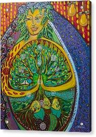 Tree Of Life Acrylic Print by Havi Mandell
