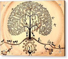 Tree Of Life II Acrylic Print by Anjali Vaidya