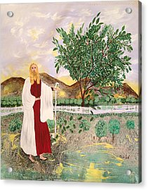 Tree Of Life- Jesus Acrylic Print