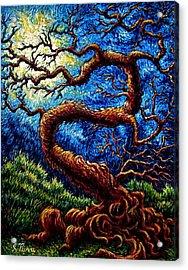 Tree Of Life Acrylic Print by Sebastian Pierre