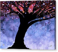 Tree Of Life Three Acrylic Print by Ann Powell