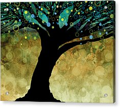 Tree Of Life Two  Acrylic Print by Ann Powell