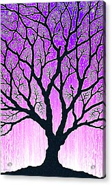 Acrylic Print featuring the digital art Tree Of Light 2 by Cristophers Dream Artistry