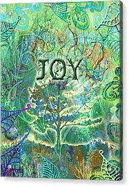 Tree Styling Acrylic Print