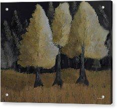 Tree Trio Acrylic Print