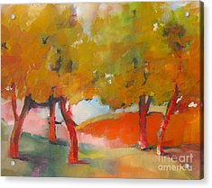 Trees #5 Acrylic Print by Michelle Abrams