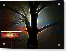 Trees - Featured In 'comfortable Art' Group Acrylic Print by EricaMaxine  Price