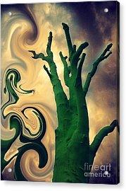 Treeswirl Acrylic Print by Susan Townsend
