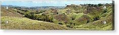 Trekking Sulawesi Acrylic Print by Photography by Mangiwau