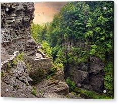 Treman Trail Acrylic Print