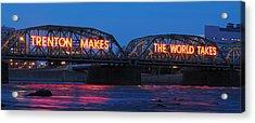 Trenton Makes Panoramic Acrylic Print