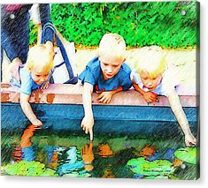 A Childs World  Acrylic Print