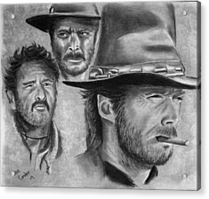 Tres Hombres Acrylic Print