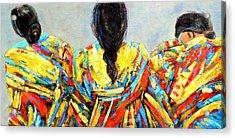 Tres Mujers Acrylic Print