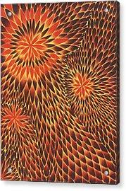 Tres Acrylic Print by Zachary Worth