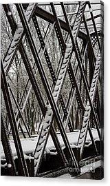 Trestle Gridwork Decorated By Nemo Acrylic Print