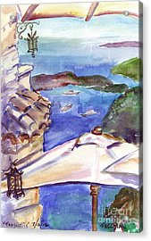 Tresurlie Eze Acrylic Print by Valerie Freeman