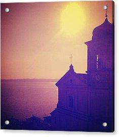 Trevignano's Lake Acrylic Print
