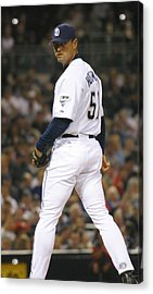 Acrylic Print featuring the photograph Trevor Hoffman by Don Olea