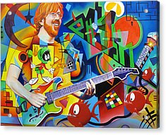 Trey Kandinsky  Acrylic Print by Joshua Morton