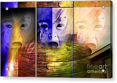 Triad Emotive Acrylic Print