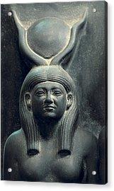 Triad Of Menkaure Mycerinus Acrylic Print by Everett