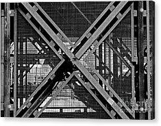 Acrylic Print featuring the photograph Triangle by Maja Sokolowska