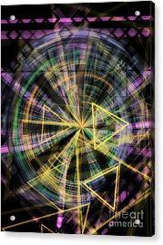Triangles 1 Acrylic Print by Jose Benavides