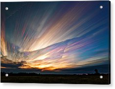 Triangular Void Acrylic Print by Matt Molloy