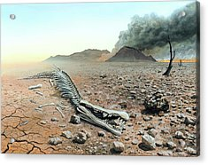 Triassic-jurassic Extinction Acrylic Print