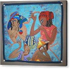 Tribal Acrylic Print by Linda Egland