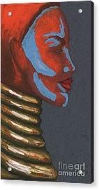 Tribal Silhouette Acrylic Print